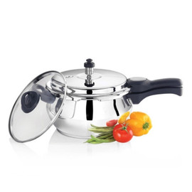 Pressure Cookers | Premier 5L Handi Cooker with Glass Lid