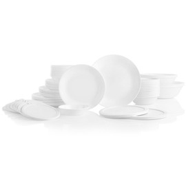 Corelle Winter Frost White 78pc Dinner Set