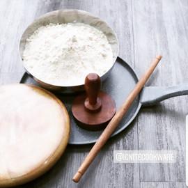 Ignite Roti Tawa, Roti Board and Rolling Pin Set