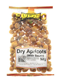 500g Dry Apricots ( With Seeds ) - Fudco