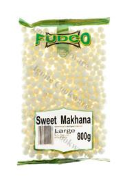 800g Large Sweet Makhana - Fudco