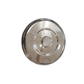 Stainless Steel Puri Dabba with lid 24cm