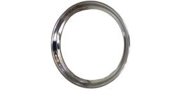 Stainless Steel Beaded Thali 28cm