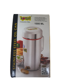 stainless steel oil pourer front