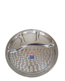 Stainless Steel Thali | compartments Thali 30cm | Free UK Delivery