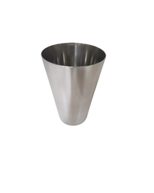 Stainless Steel Tumbler Glass 10cm pack of 4