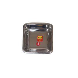 Stainless Steel Halwa plate 9cm