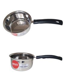 Stainless Steel Milk Pan 17cm   Stainless Steel Chai Pan