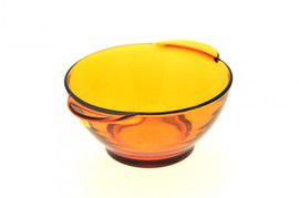 Duralex Amber Glass Round Casserole Bowl - 13cm Pack of 6