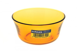 Duralex Amber Glass Bowl - Small 10.5cm pack of 6