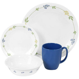 Corelle Secret Garden 16pc Dinner Set
