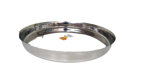 Stainless Steel Thali  3cm high
