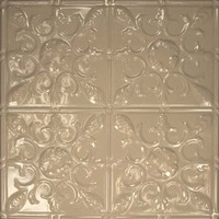 1218 Aluminum Ceiling Tile in Buff Finish is available at www.decorativeceilingtiles.net