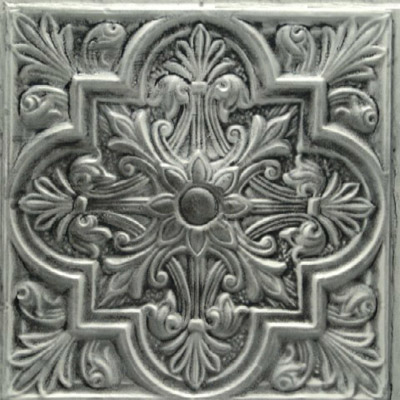 2438 Aluminum Ceiling Tile in Smoked Alabaster and many other finishes is available at www.decorativeceilingtiles.net