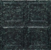 1201 Aluminum Ceiling Tile in Green Marble finish and many other is availabel at www.decorativeceilingtiles.net
