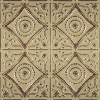 1219 Aluminum Ceiling Tile in our Distresed Sage finish is available at www.decorativeceilingtiles.net