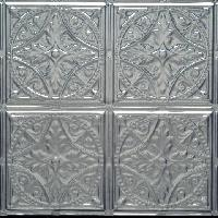 1222 Aluminum Ceiling Tile in our Clear Coated Finish.