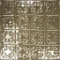 0608 Aluminum Ceiling Tile in Chocolate finish is available at www.decorativeceilingtiles.net