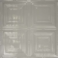 1221 Aluminum Ceiling Tiles in Dove Gray finish and many others is available at www.decorativeceilingtiles.net