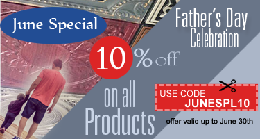 10% off on All Products - June Special | Father's Day Celebration