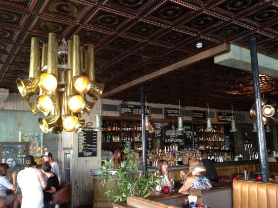 Inside Blues Kitchen Restaurant