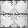 1205 Aluminum Ceiling Tile in Mill Finish Aluminum available at www.decorativeceilingtiles.net