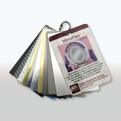 Mirroflex Color Flat Sheets Chain - Sample Pack