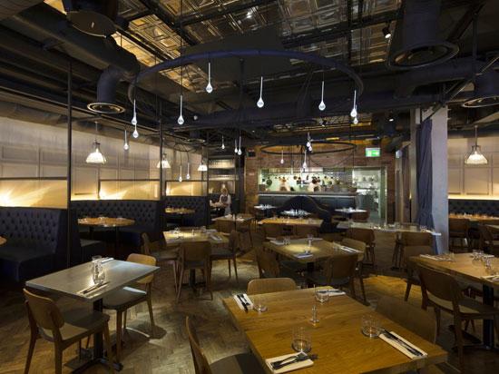 Restaurant London - Tin Ceiling Tiles