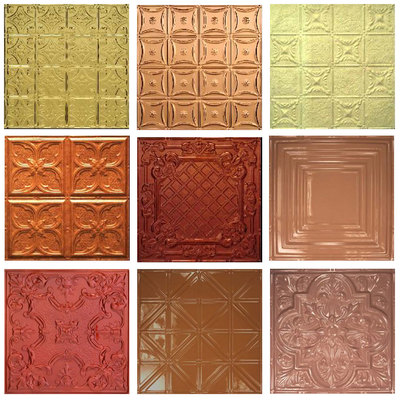 Tin Tiles Custom 5 Piece Sample Pack