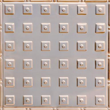 The Loft - Copper Ceiling Tile - 24 in x 24 in - #2477