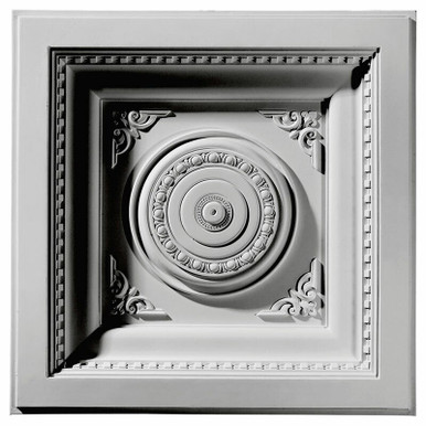 """Royal - Urethane - Coffered Ceiling Tile - 24""""x24"""" -  #CT24X24RO"""