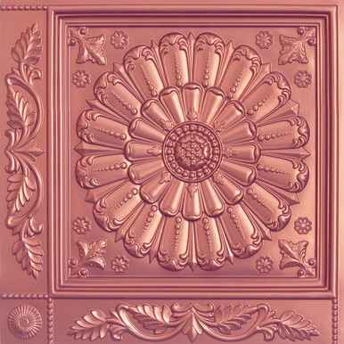 Faux Tin Ceiling Tiles - 24 in x 24 in - #VC 01