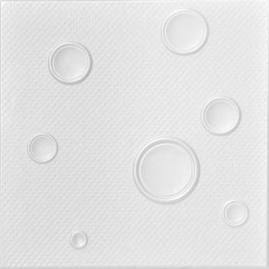 Bruno Glue-up Styrofoam Ceiling Tile 20 in x 20 in - #R115