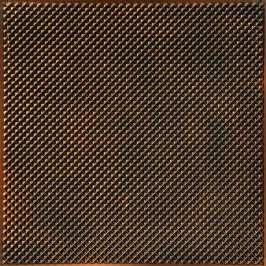 Mesh - Faux Tin  Filler / Border Ceiling Tile - 24 in x 24 in - #DCT 20