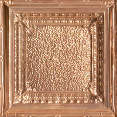 Jackson Square - Copper Ceiling Tile - 24 in x 24 in - #2431