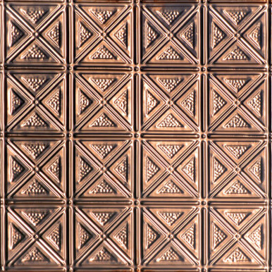 Dimensional Geometry - Copper Ceiling Tile - #0609