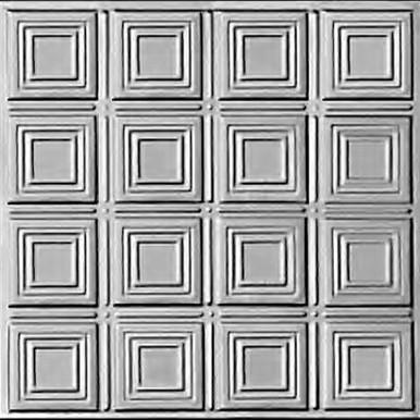 Times Squares - Tin Ceiling Tile - #0601