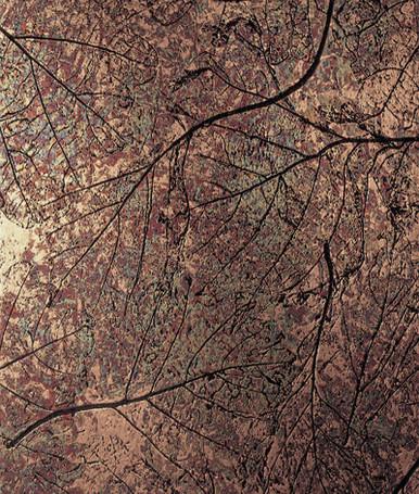 Patina Autumn NuMetal Copper Laminate 4ft. x 8ft. C421