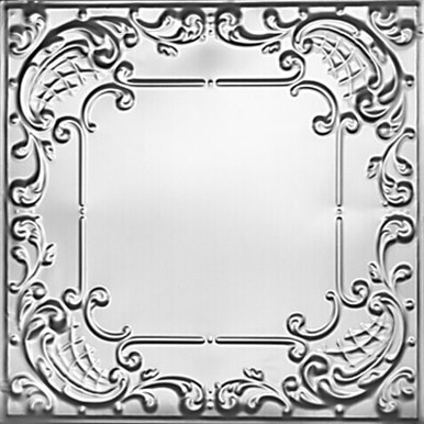 Queen Anne Lace - Tin Ceiling Tile - #2406