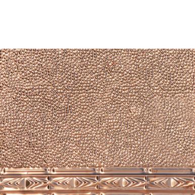 Art Deco - Copper Backsplash Tile - #2417