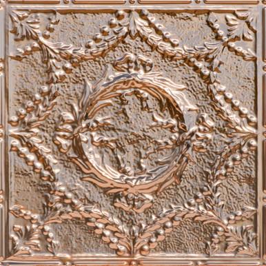 Caesar's Wreath - Copper Ceiling Tile - 24 in x 24 in - #2416