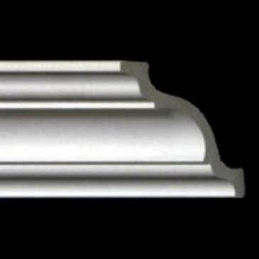 Styrofoam Crown Molding  6 in. Wide  8 ft. Long - #110 DCT