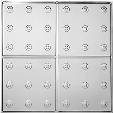 "Manhattan - Tin Ceiling Tile - 24""x24"" - #1276"
