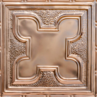 Moroccan Magic - Copper Ceiling Tile - 24 in x 24 in - #2425