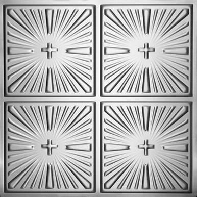"Inspiration - Aluminum Ceiling Tile - 24""x24"" - #1213"