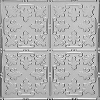 "Venetian Holiday - Tin Ceiling Tile - 24""x24"" - #1206"
