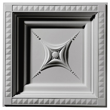 """Star - Urethane - Coffered Ceiling Tile - 24""""x24"""" -  #CT24X24ST"""