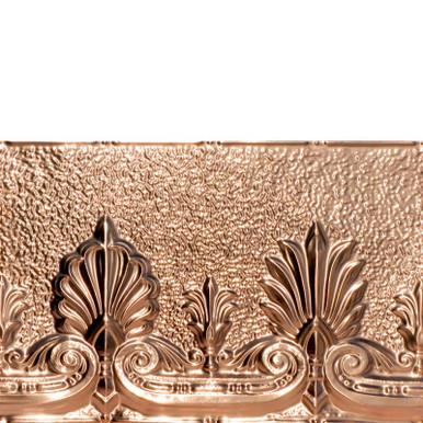 Acantus Leaf - Copper Backsplash Tile - #2432