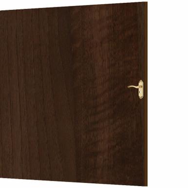 Medium Walnut - Door Skin - MirroFlex