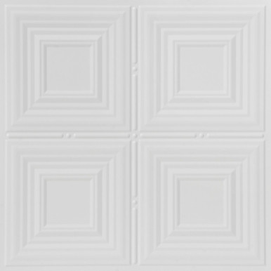 Faux Tin Ceiling Tile - 24 in x 24 in - #DCT 0320